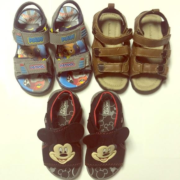 e695d399296 Little boys sandals! Paw Patrol